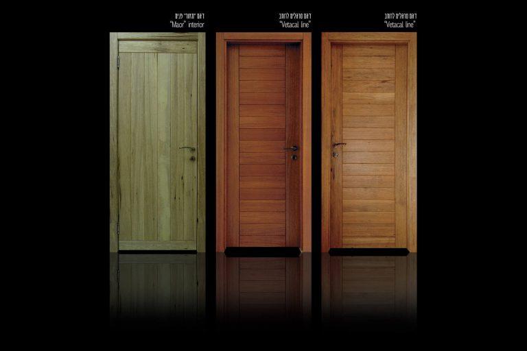 דלתות פנים מעץ