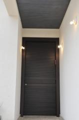 דלת כניסה צבע וונגה