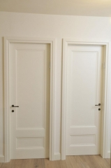 דלת לבנה לחדרים
