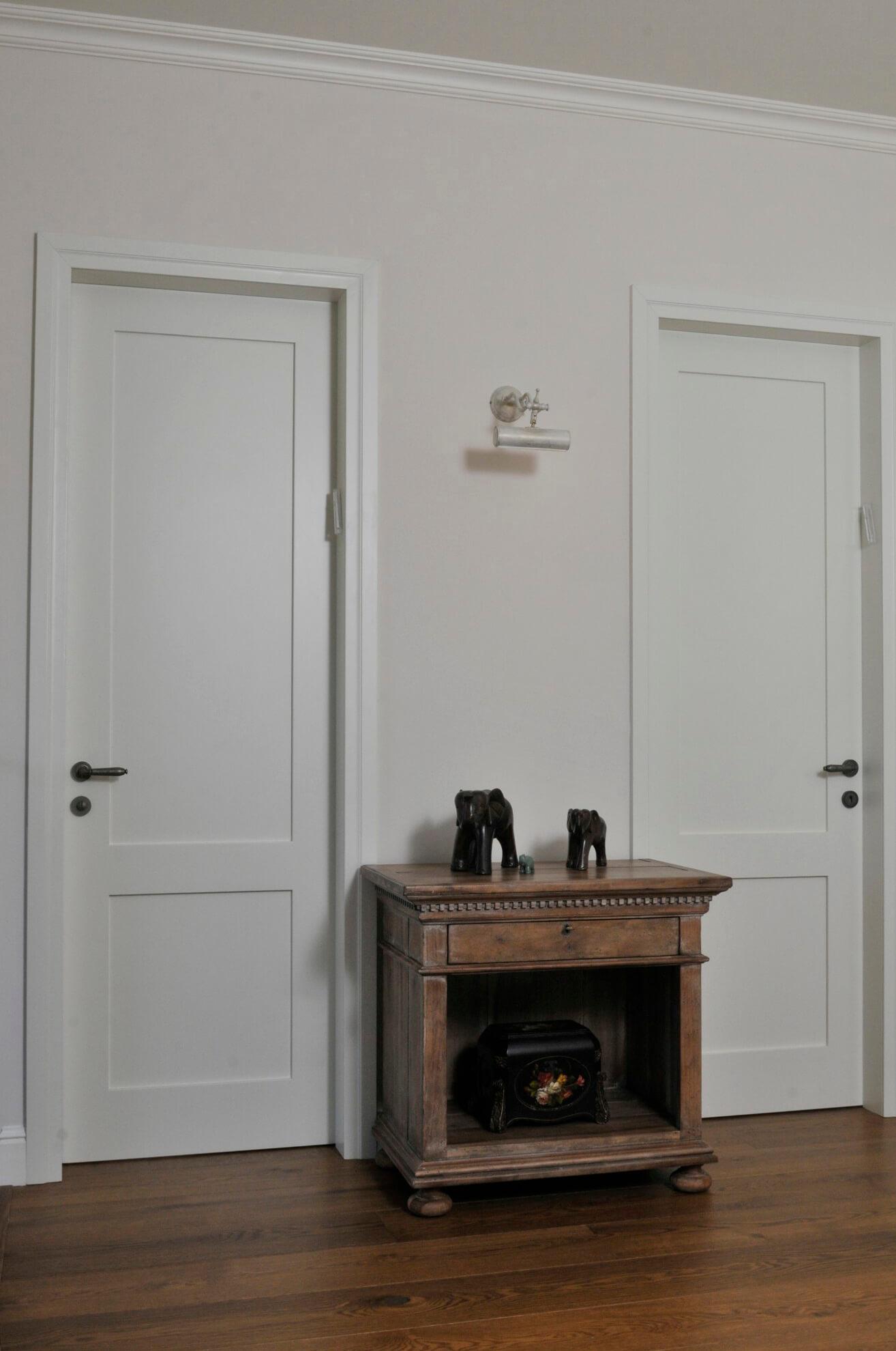 דלתות לבנות לחדרים