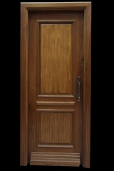 דלת פנים עץ משולב