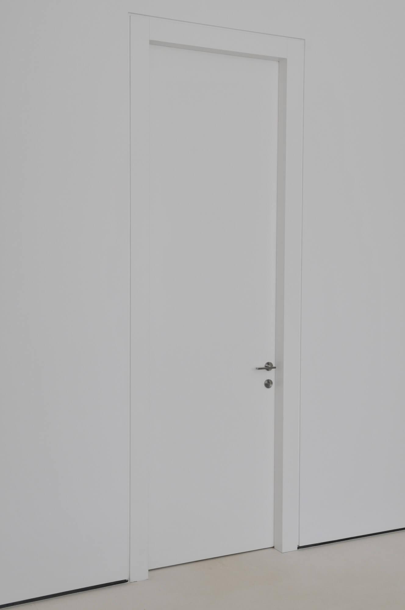 דלת שלייפלק לבנה